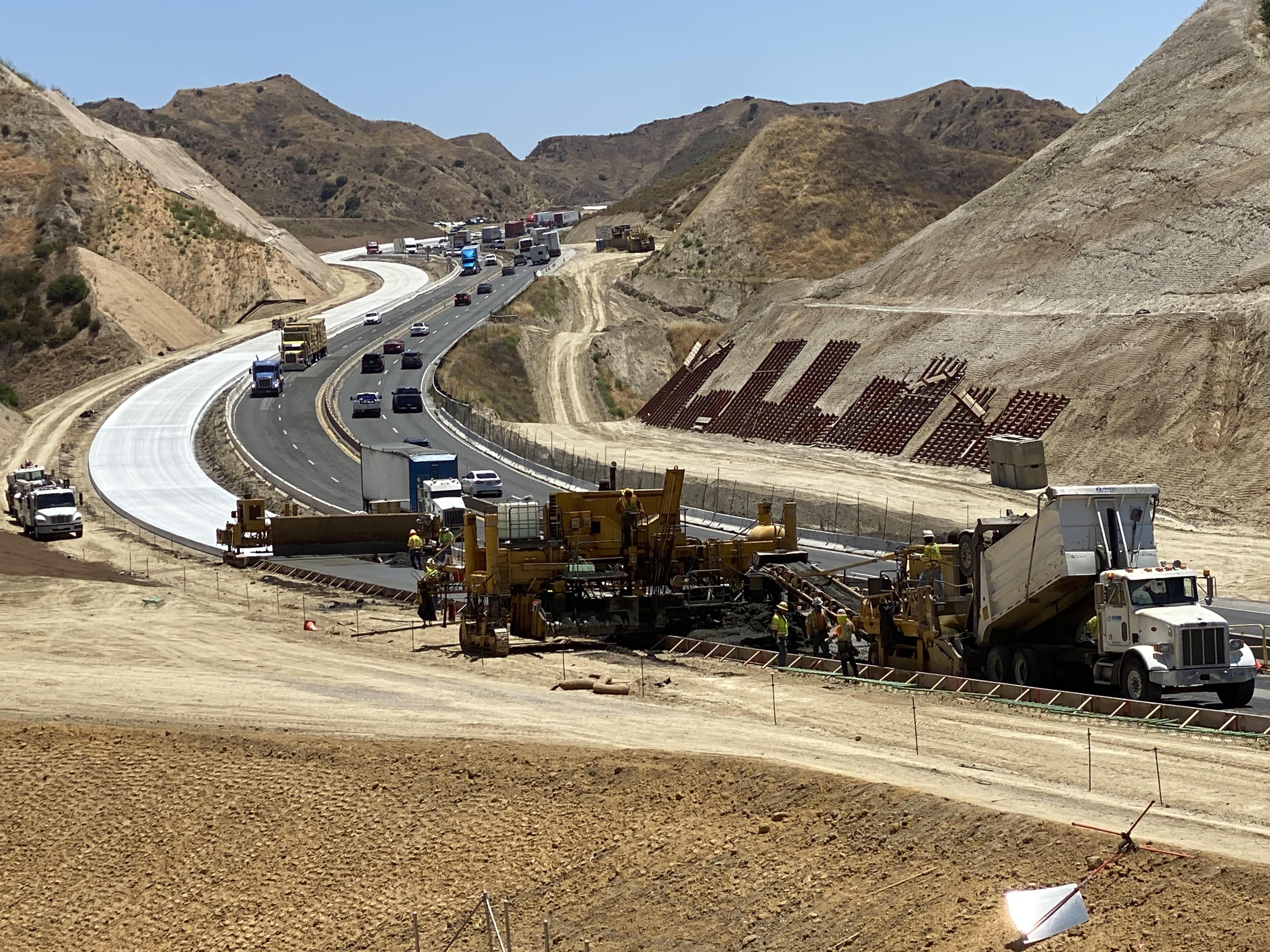 SR-60 Truck Climbing Lanes Project